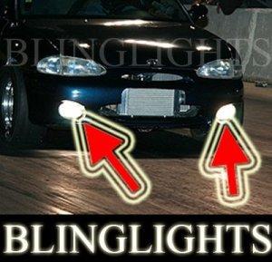 1995-1999 Hyundai Accent Xenon Fog Lights Driving Lamps Kit 1996 1997 1998