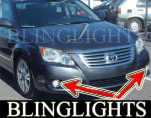 2005-2009 TOYOTA AVALON XENON FOG LIGHTS DRIVING LAMPS LIGHT LAMP KIT 2006 2007 2008