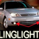 2005 2006 2007 FORD FOCUS LED BUMPER FOG LIGHTS PAIR DRIVING LIGHTS LAMP LIGHT KIT hatch zx