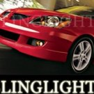 2002-2007 MITSUBISHI LANCER XENON FOG LIGHTS DRIVING LAMPS LIGHT LAMP KIT 2003 2004 2005 2006