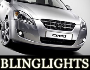 2007 2008 2009 KIA CEE'D XENON FOG LIGHTS DRIVING LAMPS LAMP LIGHT KIT ceed cee d s gs ls