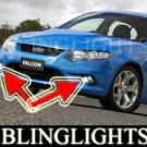 2008 2009 FORD FALCON XR8 BUMPER FOG LIGHTS driving lamps
