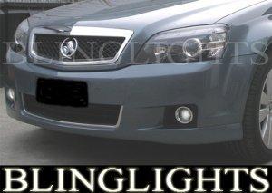 2006-2009 HOLDEN CAPRICE FOG LIGHTS LAMPS PAIR 2007 2008