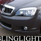 2006-2009 HOLDEN STATESMAN FOG LIGHTS LAMPS alloytec 2007 2008