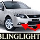 2008 2009 FORD FALCON UTE R6 BUMPER FOG LIGHTS driving lamps