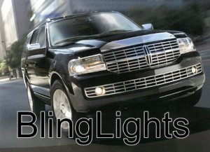 2007-2009 LINCOLN NAVIGATOR LED FOG LIGHTS LAMPS LAMP L 2008