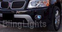 2006-2009 PONTIAC TORRENT XENON FOG LIGHTS DRIVING LAMPS LIGHT LAMP KIT 2007 2008