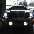 1998-2002 PONTIAC FIREBIRD ANGEL EYES FOG LIGHTS DRIVING HALOS LAMPS LIGHT LAMP KIT 1999 2000 2001