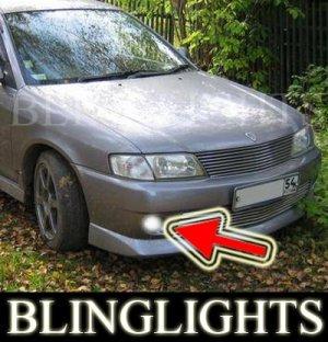 1997-1999 NISSAN WINGROAD BUMPER FOG LIGHTS PR driving lamps 1998
