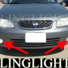 2000-2003 NISSAN SENTRA XE XENON FOG LIGHTS DRIVING LAMPS LIGHT LAMP KIT 2001 2002