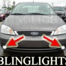 2005-2007 FORD FOCUS ZX4 S FOG LIGHTS driving lamp 2006
