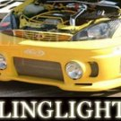 FORD FOCUS JUNBUG BUMPER BODY FOG LIGHTS DRIVING LAMPS LAMP LIGHT KIT 2000 2001 2002 2003 2004