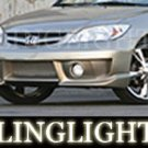 2001-2005 HONDA CIVIC EREBUNI BODY KIT FOG LIGHTS DRIVING LAMPS XENON LIGHT LAMP 2002 2003 2004