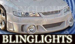 1995-2002 PONTIAC SUNFIRE FX DESIGNS BODY KIT BUMPER FOG LIGHTS LAMPS 1996 1997 1998 1999 2000 2001