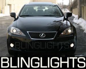 LEXUS IS250 IS350 LED FOG LIGHTS driving lamps rwd awd