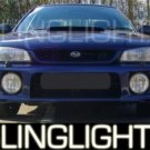 1993-2001 SUBARU IMPREZA 2.5RS 2.5 RS XENON FOG LIGHTS DRIVING LAMPS LIGHT LAMP KIT 1998 1999 2000