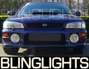 1993-2001 SUBARU IMPREZA 2.5RS 2.5 RS XENON FOG LIGHTS DRIVING LAMPS LIGHT LAMP KIT 1998 1999 2000