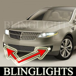 2009 LINCOLN MKS BUMPER FOG LIGHTS driving lamps sedan