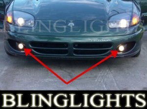 1991-1996 DODGE STEALTH FOG LIGHTS r/t tt lamps gto 1992 1993 1994 1995