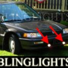 1990 1991 HONDA CIVIC EX SEDAN XENON FOG LIGHTS DRIVING LAMPS LIGHT LAMP KIT