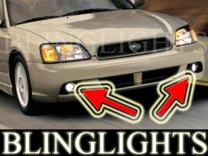 2003 2004 SUBARU LEGACY SEDAN XENON FOG LIGHTS DRIVING LAMPS LAMP LIGHT KIT