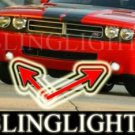 2009 2010 DODGE CHALLENGER XENON FOG LIGHTS DRIVING LAMPS LIGHT LAMP KIT