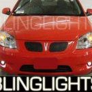 PONTIAC G5 GT XENON FOG LIGHTS DRIVING LAMPS LIGHT LAMP KIT 2005 2006 2007 2008 2009