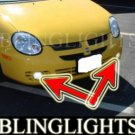 2001-2004 DODGE NEON R/T FOG LIGHTS driving lamps 2002 2003