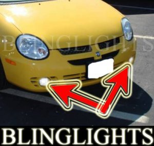 2001-2004 DODGE NEON R/T FOG LIGHTS driving lamps 2002 2003