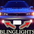 1995-1999 SUBARU LEGACY SEDAN WAGON FOG LIGHTS DRIVING LAMPS LIGHT LAMP KIT 1996 1997 1998