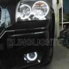 DODGE CHARGER ANGEL EYE FOG LIGHTS LAMPS LIGHT LAMP KIT 06 07 08 09 SE PLUS RT DAYTONA RT SXT AWD
