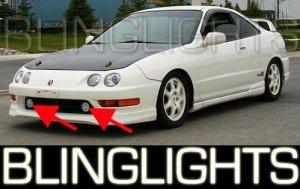 1994-2001 ACURA INTEGRA HALO FOG LIGHTS LAMPS LIGHT LAMP KIT 1995 1996 1997 1998 1999 2000 SPEC-R