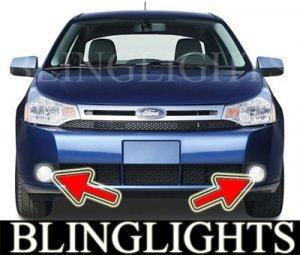 2008 2009 2010 FORD FOCUS SES SEDAN XENON BUMPER FOG LIGHTS DRIVING LAMPS LAMP LIGHT KIT