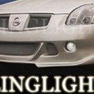 2004-2008 NISSAN MAXIMA EREBUNI BODY KIT FOG LIGHTS LAMPS LIGHT LAMP 2005 2006 2007