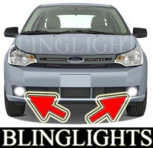 2008 2009 2010 FORD FOCUS S SEDAN BUMPER XENON FOG LIGHTS DRIVING LAMPS LIGHT LAMP KIT