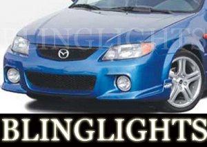 2001-2003 MAZDA PROT�G� WINGS WEST BODY KIT FOG LIGHTS LAMP 2002