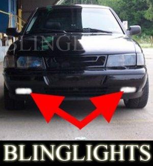 1994-1998 SAAB 900 TALLADEGA FOG LIGHTS driving lamps 1995 1996 1997