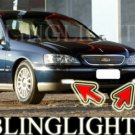 2003-2007 FORD FAIRLANE BA SERIES FOG LIGHTS DRIVING LAMPS LIGHT LAMP KIT 2004 2005 2006