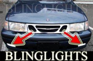 1999-2002 SAAB 9-3 SE XENON FOG LIGHTS DRIVING LAMPS LIGHT LAMP KIT 2000 2001