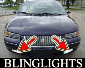 1995-2000 CHRYSLER CIRRUS FOG LIGHTS DRIVING LAMPS LIGHT LAMP KIT lamps lx lxi 1996 1997 1998 1999