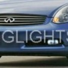 2003-2007 Infiniti G35 Xenon Fog Lights Driving lamps Kit 2004 2005 2006