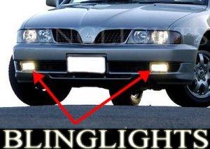 2000-2003 MITSUBISHI VERADA FOG LIGHTS DRIVING LAMPS LIGHT LAMP KIT tj executive advance 2001 2002