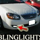 2007 2008 2009 KIA SPECTRA 4DR XENON FRONT FOG LIGHTS DRIVING LAMPS LAMP LIGHT KIT ex lx sx 07 08 09