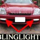 1997-2001 HONDA PRELUDE FOG LIGHTS DRIVING LAMPS LIGHT LAMP KIT type-s type-sh sir-s 1998 1999 2000