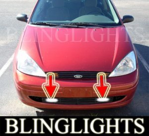 Ford Focus Zx Wagon Hatchback Xenon Fog Lights Driving Lamps Lamp Light Kit  Ztw
