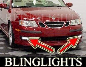 2005 2006 2007 SAAB 9-3 AERO XENON FOG LIGHTS DRIVING LAMPS LIGHT LAMP KIT