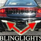 2001-2005 DODGE STRATUS R/T COUPE REAR FOG LIGHTS DRIVING LAMPS LIGHT LAMP KIT 2002 2003 2004 RT