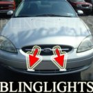 2000-2003 FORD TAURUS XENON FOG LIGHTS DRIVING LAMPS LIGHT LAMP KIT lx se sel 2001 2002