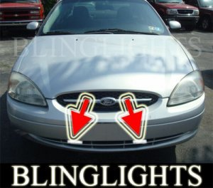 2000-2003 FORD TAURUS XENON FOG LIGHTS DRIVING LAMPS LIGHT LAMP KIT lx se sel 2001 2002