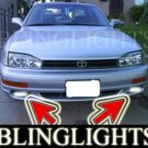 1994-1998 TOYOTA CAMRY XENON FOG LIGHTS DRIVING LAMPS LIGHT LAMP KIT 1995 1996 1997